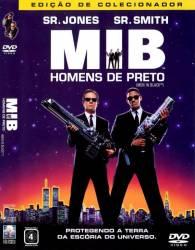 DVD MIB - HOMENS DE PRETO