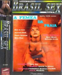 DVD A FEMEA DA PRAIA - PORNOCHANCHADA