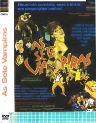 DVD AS SETE VAMPIRAS - PORNOCHANCHADA