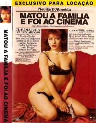 DVD MATOU A FAMILIA E FOI AO CINEMA - PORNOCHANCHADA