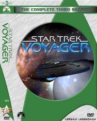 DVD JORNADA NAS ESTRELAS VOYAGER - LEGEANDADO - 3 TEMP - 7 DVDs