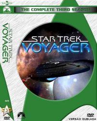 DVD JORNADA NAS ESTRELAS VOYAGER - DUBLADO - 3 TEMP - 7 DVDs