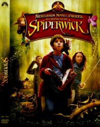 DVD AS CRONICAS DE SPIDERWICK