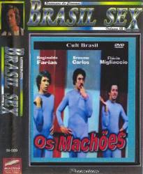 DVD OS MACHOES - PORNOCHANCHADA