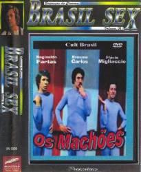 DVD OS MACHOES - PORNOCHANCHADA