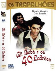 DVD OS TRAPALHOES ALI BABA E OS 40 LADROES