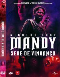 DVD MANDY - SEDE DE VINGANÇA - NICOLAS CAGE