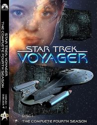 DVD JORNADA NAS ESTRELAS VOYAGER - DUBLADO - 4 TEMP - 7 DVDs