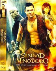 DVD SINBAD E O MINOTAURO - MANU BENNETT