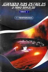 DVD JORNADA NAS ESTRELAS - A NOVA GERAÇAO - 1 TEMP - 7 DVDs