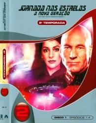 DVD JORNADA NAS ESTRELAS - A NOVA GERAÇAO - 2 TEMP - 6 DVDs