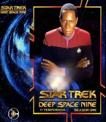 DVD JORNADA NAS ESTRELAS - DEEP SPACE NINE - 1 TEMP - 6 DVDs