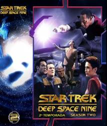 DVD JORNADA NAS ESTRELAS - DEEP SPACE NINE - 2 TEMP - 7 DVDs