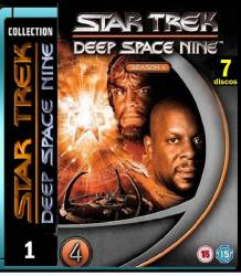 DVD JORNADA NAS ESTRELAS - DEEP SPACE NINE - 4 TEMP - 7 DVDs