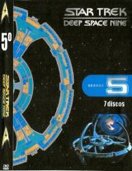 DVD JORNADA NAS ESTRELAS - DEEP SPACE NINE - 5 TEMP - 7 DVDs