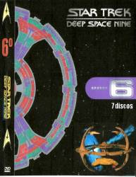 DVD JORNADA NAS ESTRELAS - DEEP SPACE NINE - 6 TEMP - 7 DVDs