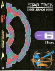 DVD JORNADA NAS ESTRELAS - DEEP SPACE NINE - 6 TEMP - 7 DVDs