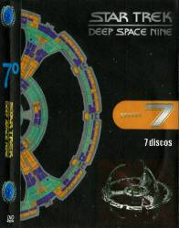 DVD JORNADA NAS ESTRELAS - DEEP SPACE NINE - 7 TEMP - 7 DVDs