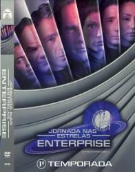 DVD JORNADA NAS ESTRELAS - ENTERPRISE - 1 TEMP - 7 DVDs