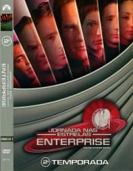 DVD JORNADA NAS ESTRELAS - ENTERPRISE - 2 TEMP - 7 DVDs