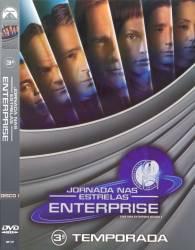 DVD JORNADA NAS ESTRELAS - ENTERPRISE - 3 TEMP - 7 DVDs