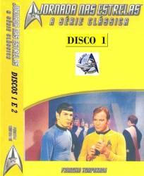 DVD JORNADA NAS ESTRELAS 1 TEMP - SERIE CLASSICA - 8 DVDs