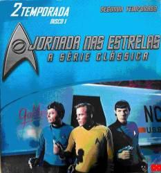 DVD JORNADA NAS ESTRELAS 2 TEMP - SERIE CLASSICA - 7 DVDs
