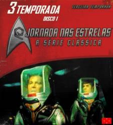 DVD JORNADA NAS ESTRELAS 3 TEMP - SERIE CLASSICA - 7 DVDs