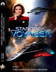 DVD JORNADA NAS ESTRELAS VOYAGER - DUBLADO 6 TEMP 7 DVDs
