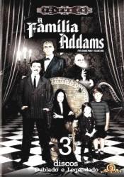 DVD A FAMILIA ADDAMS - 1 TEMP - 3 DVDs - 1964
