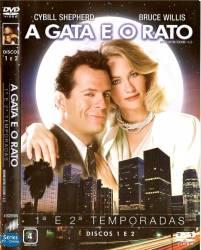 DVD A GATA E O RATO - 1 e 2 TEMP - 6 DVDs