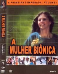 DVD A MULHER BIONICA - 1 TEMP - 4 DVDs
