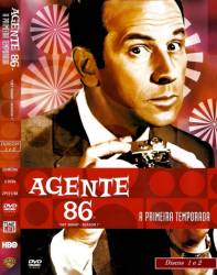 DVD AGENTE 86 - 1 TEMP - 5 DVDs