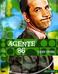 DVD AGENTE 86 - 5 TEMP - 5 DVDs