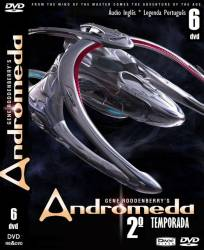 DVD ANDROMEDA - 2 TEMP - 6 DVDs