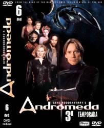 DVD ANDROMEDA - 3 TEMP - 6 DVDs