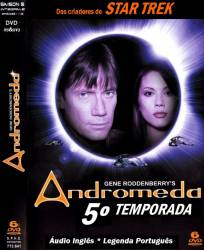 DVD ANDROMEDA - 5 TEMP - 6 DVDs