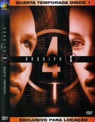 DVD ARQUIVO X - 4 TEMP - 7 DVDs
