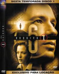 DVD ARQUIVO X - 6 TEMP - 6 DVDs