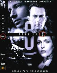 DVD ARQUIVO X - 8 TEMP - 6 DVDs