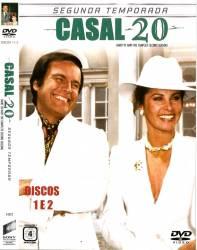DVD CASAL 20 - 2 TEMP - 5 DVDs