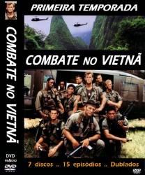 DVD COMBATE NO VIETNA - 1 TEMP - 7 DVDs