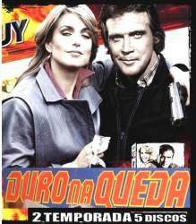 DVD DURO NA QUEDA - 2 TEMP - 5 DVDs