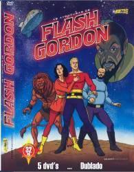 DVD FLASH GORDON - 1979 - DESENHO - 5 DVDs
