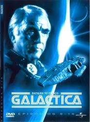 DVD GALACTICA - 1978/1980 - ASTRONAVE DE COMBATE - COMPLETA - 6 DVDs - 1978