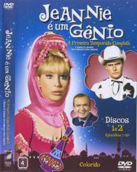 DVD JEANNIE E UM GENIO - 1 TEMP - 4 DVDs
