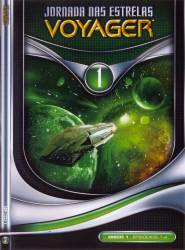 DVD JORNADA NAS ESTRELAS VOYAGER - 2 TEMP - 7 DVDs