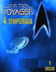 DVD JORNADA NAS ESTRELAS VOYAGER - 4 TEMP - 8 DVDs