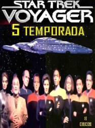 DVD JORNADA NAS ESTRELAS VOYAGER - 5 TEMP - 8 DVDs