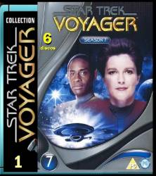 DVD JORNADA NAS ESTRELAS VOYAGER - 7 TEMP - 6 DVDs
